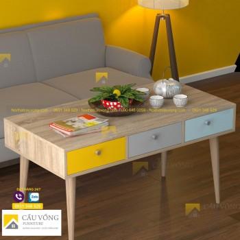 Bàn sofa chân gỗ SF93