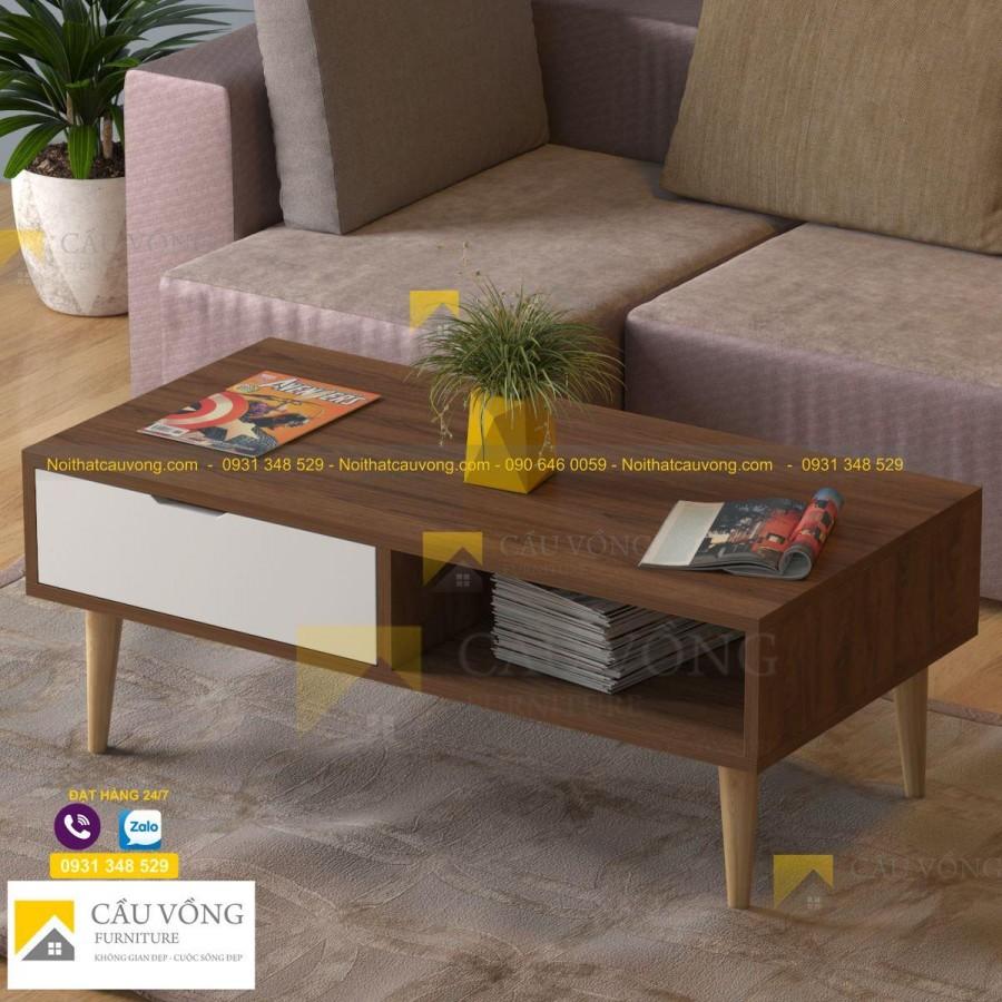 Bàn sofa gỗ hiện đại giá rẻ SF84