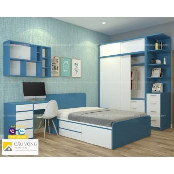 Bộ giường tủ phòng trẻ em PTE89