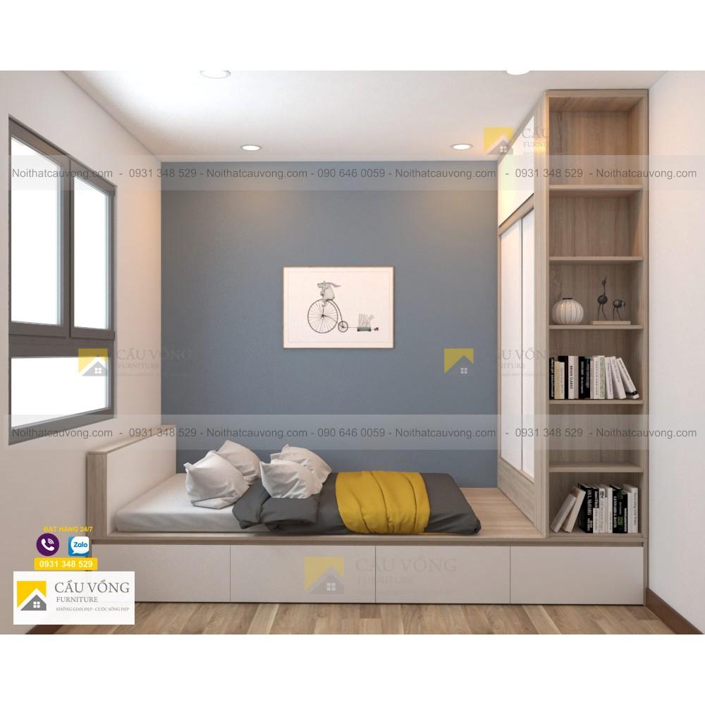 Bộ nội thất phòng ngủ trẻ em PTE92