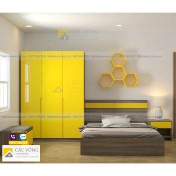 Bộ nội thất phòng trẻ em PTE94
