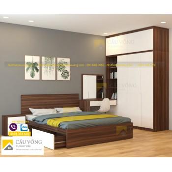 Bộ giường tủ phòng ngủ BPN55