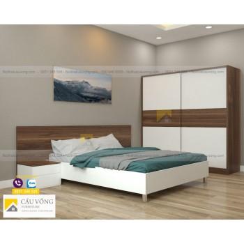Bộ nội thất phòng ngủ hiện đại BPN18