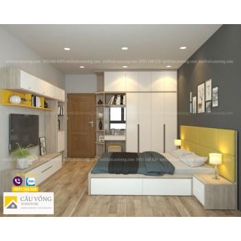 Bộ giường tủ phòng ngủ BPN04