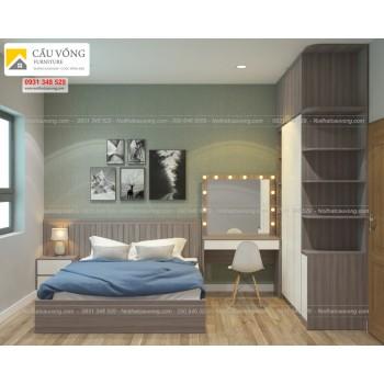 Bộ giường tủ phòng ngủ đẹp BPN05