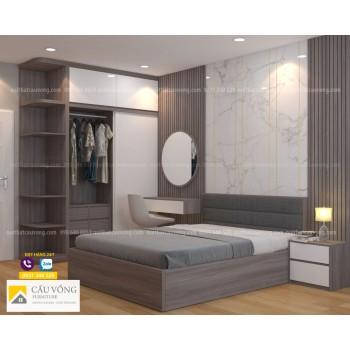 Bộ giường tủ phòng ngủ đẹp BPN100