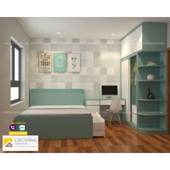 Bộ phòng ngủ hiện đại BPN102