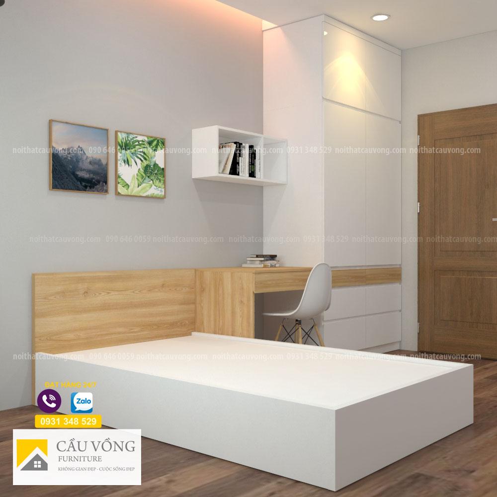 Bộ phòng ngủ đẹp hiện đại BPN107
