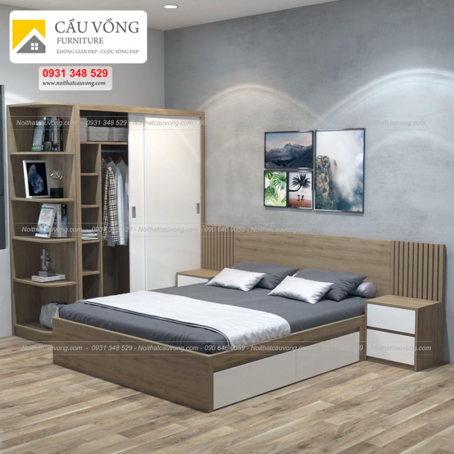 Bộ phòng ngủ giá rẻ BPN22