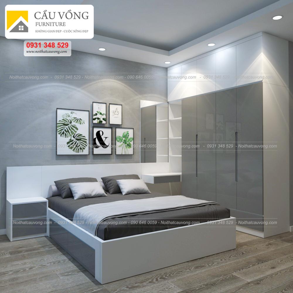 Bộ giường tủ BPN32
