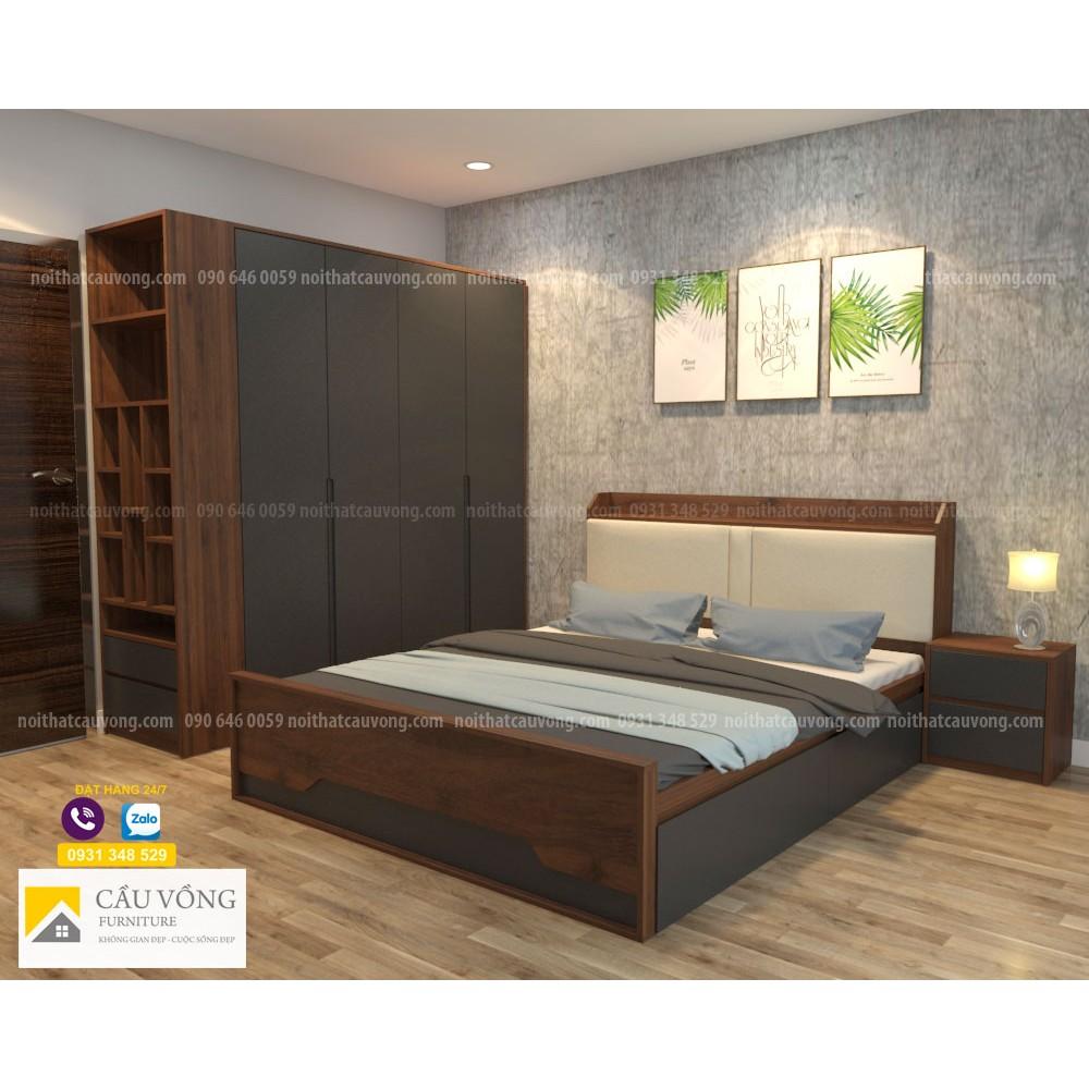Bộ giường tủ phòng ngủ BPN34