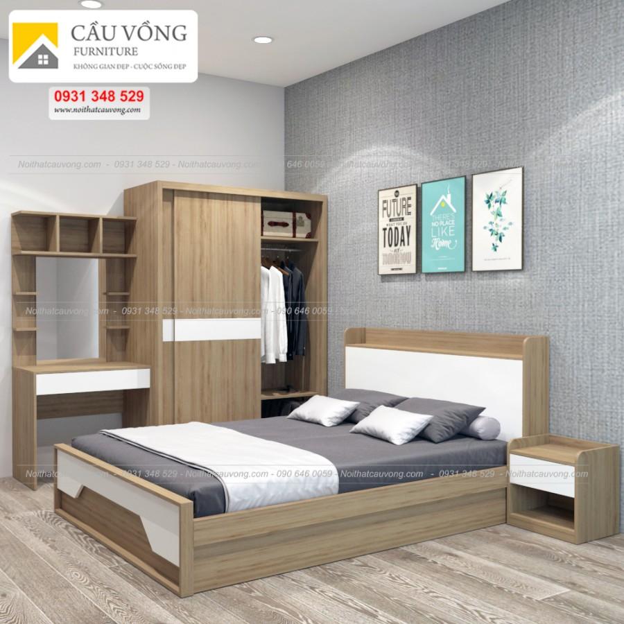 Bộ phòng ngủ đẹp BPN36