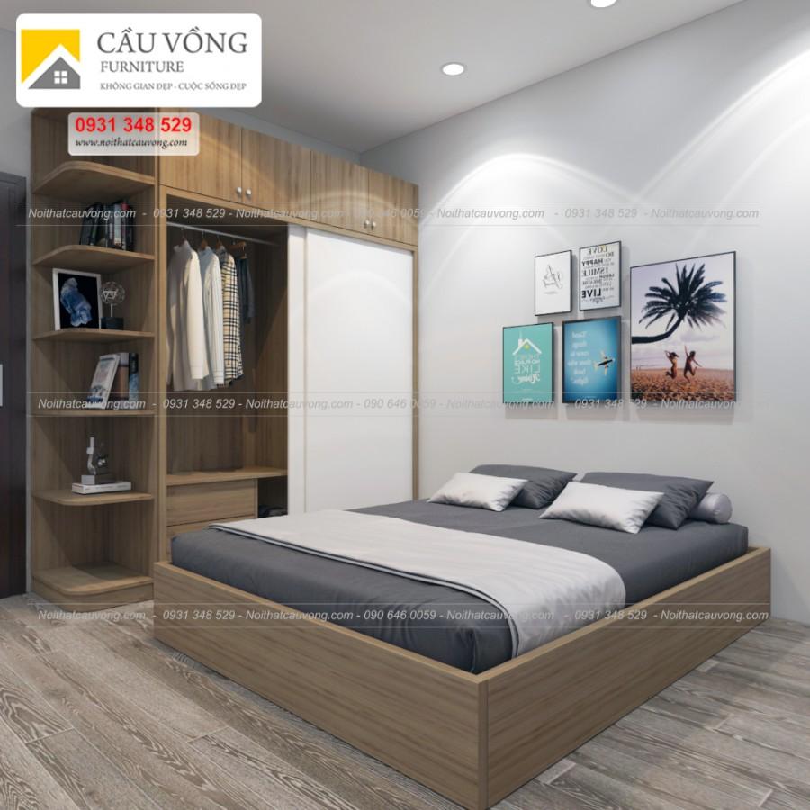 Bộ phòng ngủ đẹp BPN46