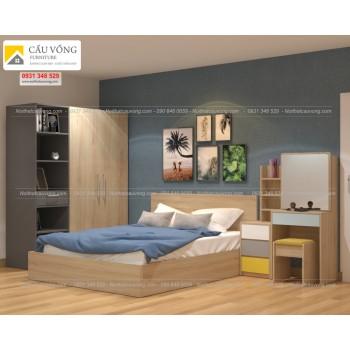 Bộ phòng ngủ hiện đại BPN50