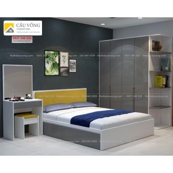 Bộ giường tủ gỗ công nghiệp BPN52
