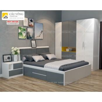Bộ giường tủ phòng ngủ đẹp BPN54