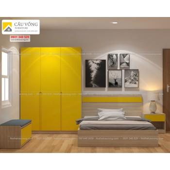 Bộ phòng ngủ giá rẻ BPN62