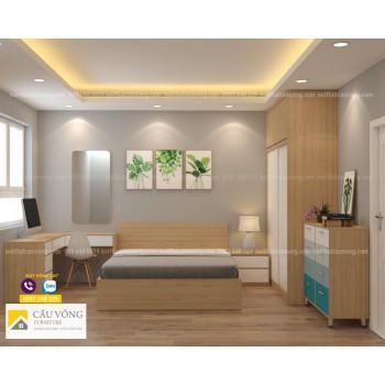 Bộ phòng ngủ đẹp giá rẻ BPN73