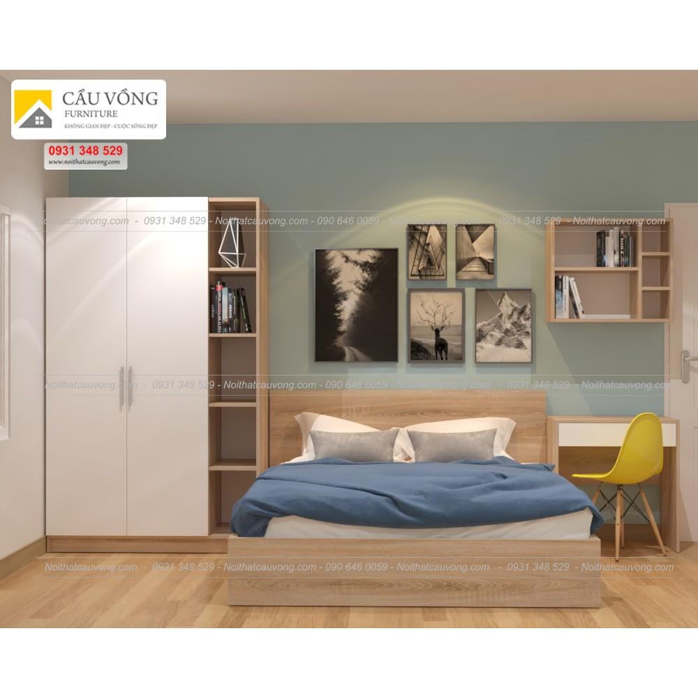 Bộ phòng ngủ giá rẻ BPN82