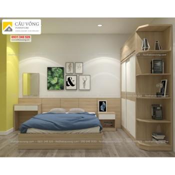 Bộ giường tủ giá rẻ BPN84