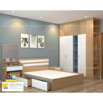 Bộ phòng ngủ đẹp giá rẻ BPN90