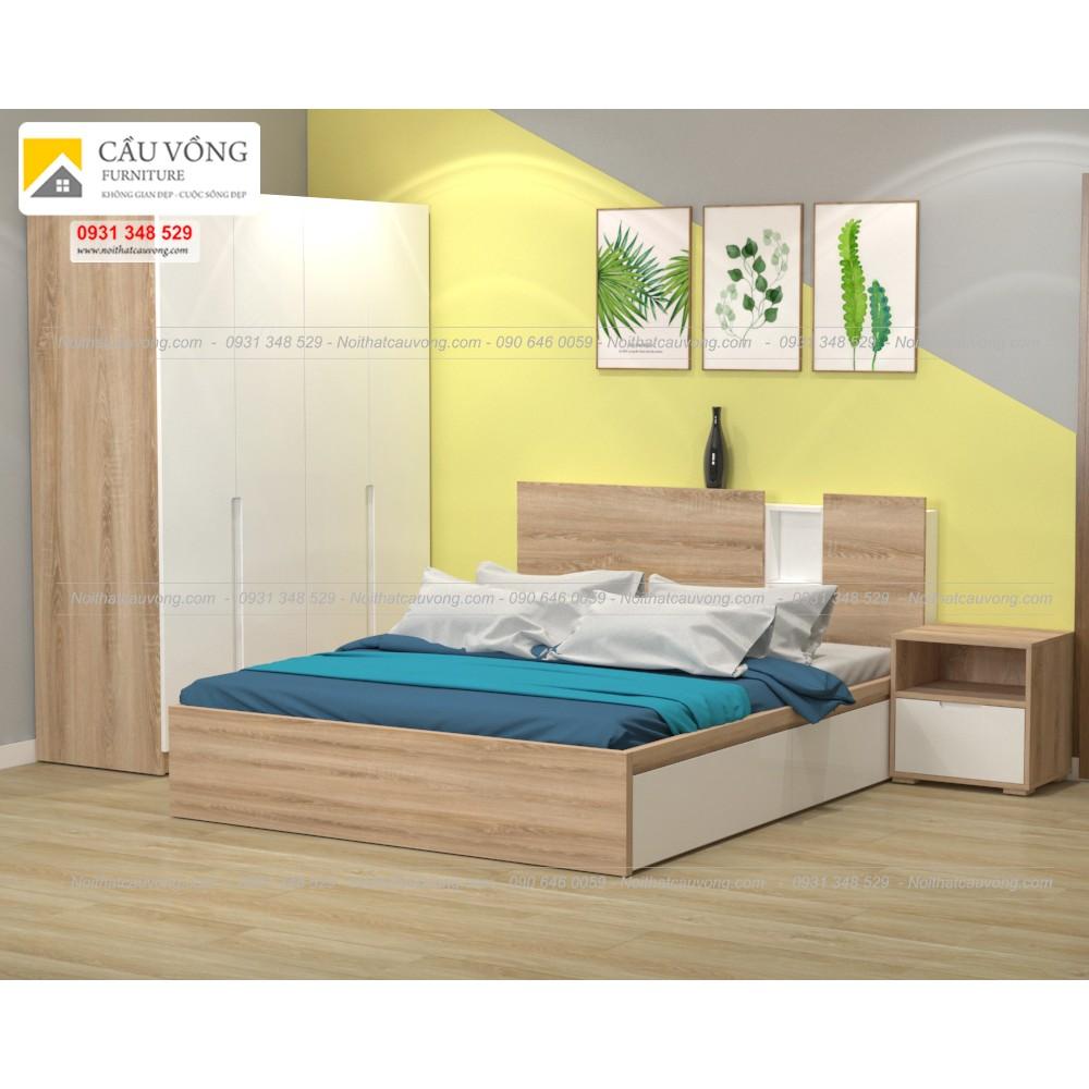 Bộ giường tủ đẹp BPN93