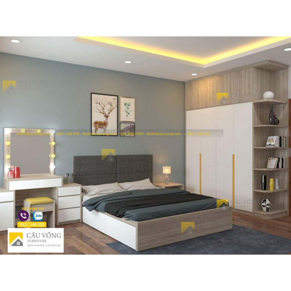 Bộ phòng ngủ giá rẻ BPN27