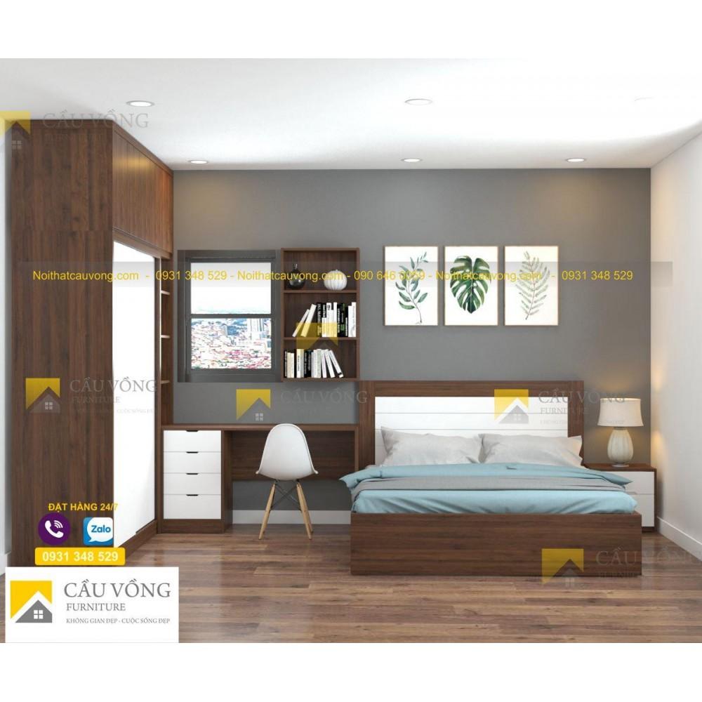 Bộ phòng ngủ giá rẻ BPN61
