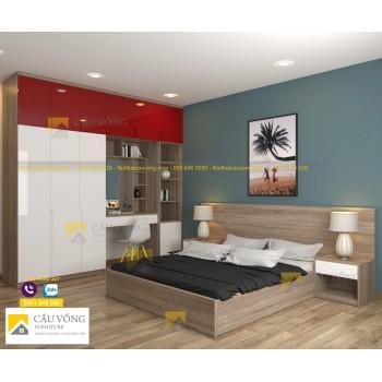 Bộ nội thất phòng ngủ đẹp BPN76