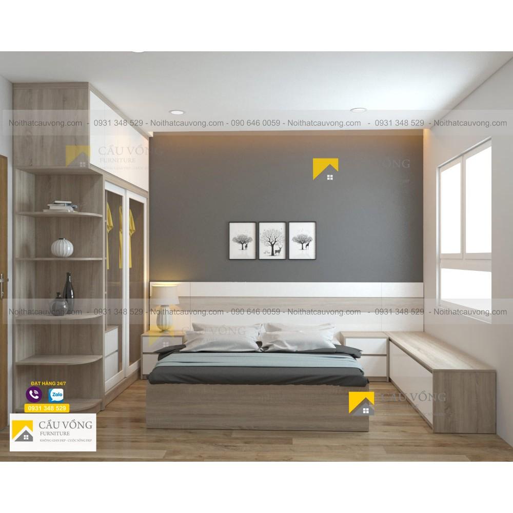 Bộ phòng ngủ hiện đại BPN10