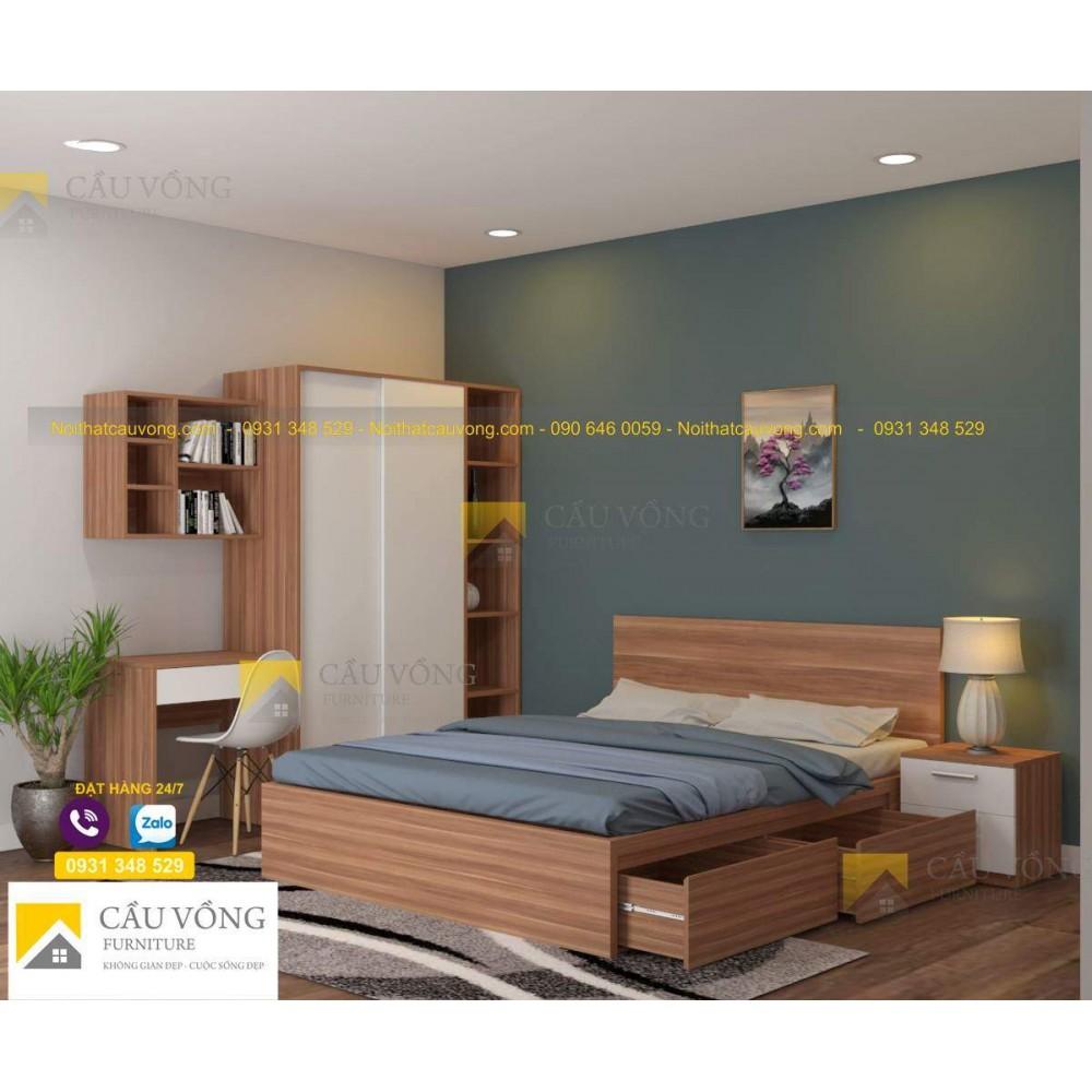 Bộ giường tủ bàn học BPN31