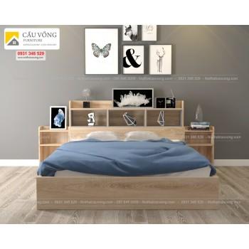 Giường ngủ gỗ công nghiệp GCV97
