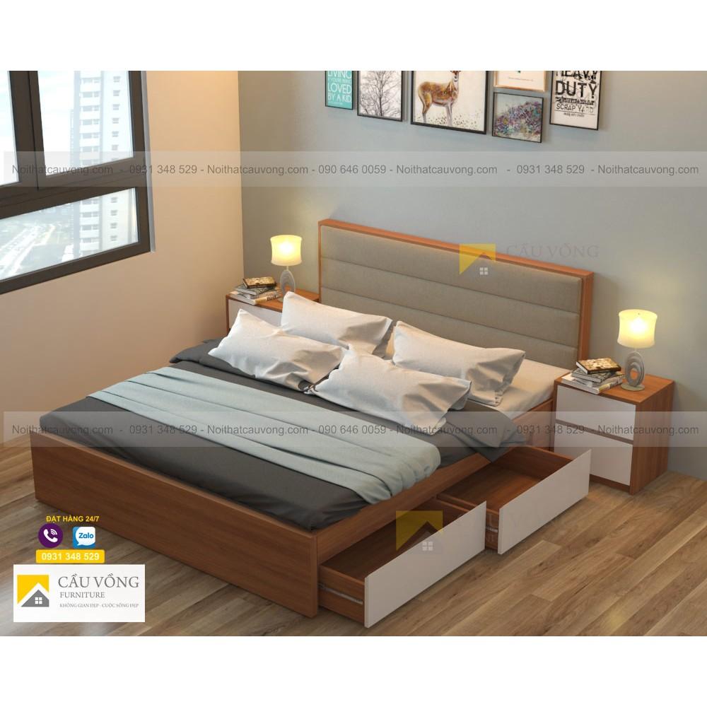 Giường ngủ bọc nệm GCV41