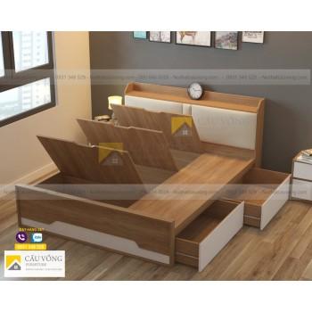 Giường hộc kéo hiện đại GCV38