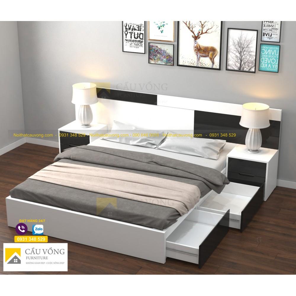Giường ngủ đẹp GCV87
