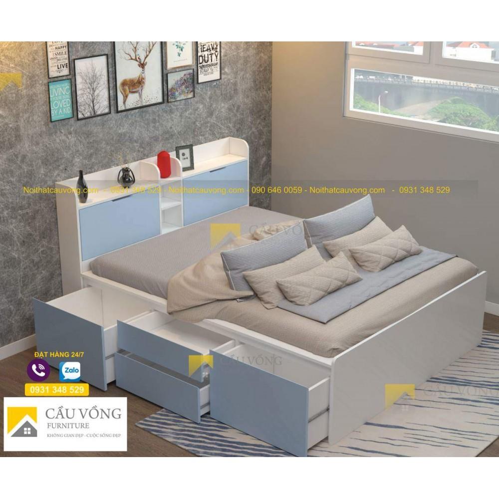 Giường hộc kéo hiện đại GCV52