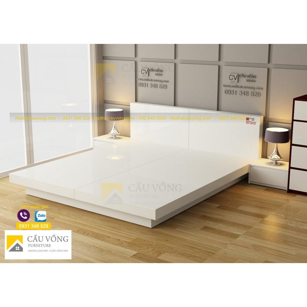 Giường phản đẹp GCV82