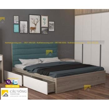 Giường ngủ bọc nệm GCV57