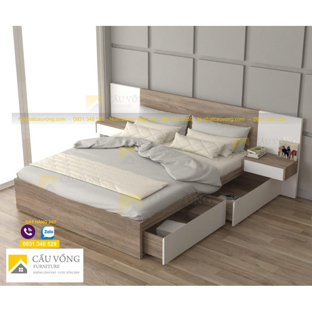 Giường ngủ hộc kéo