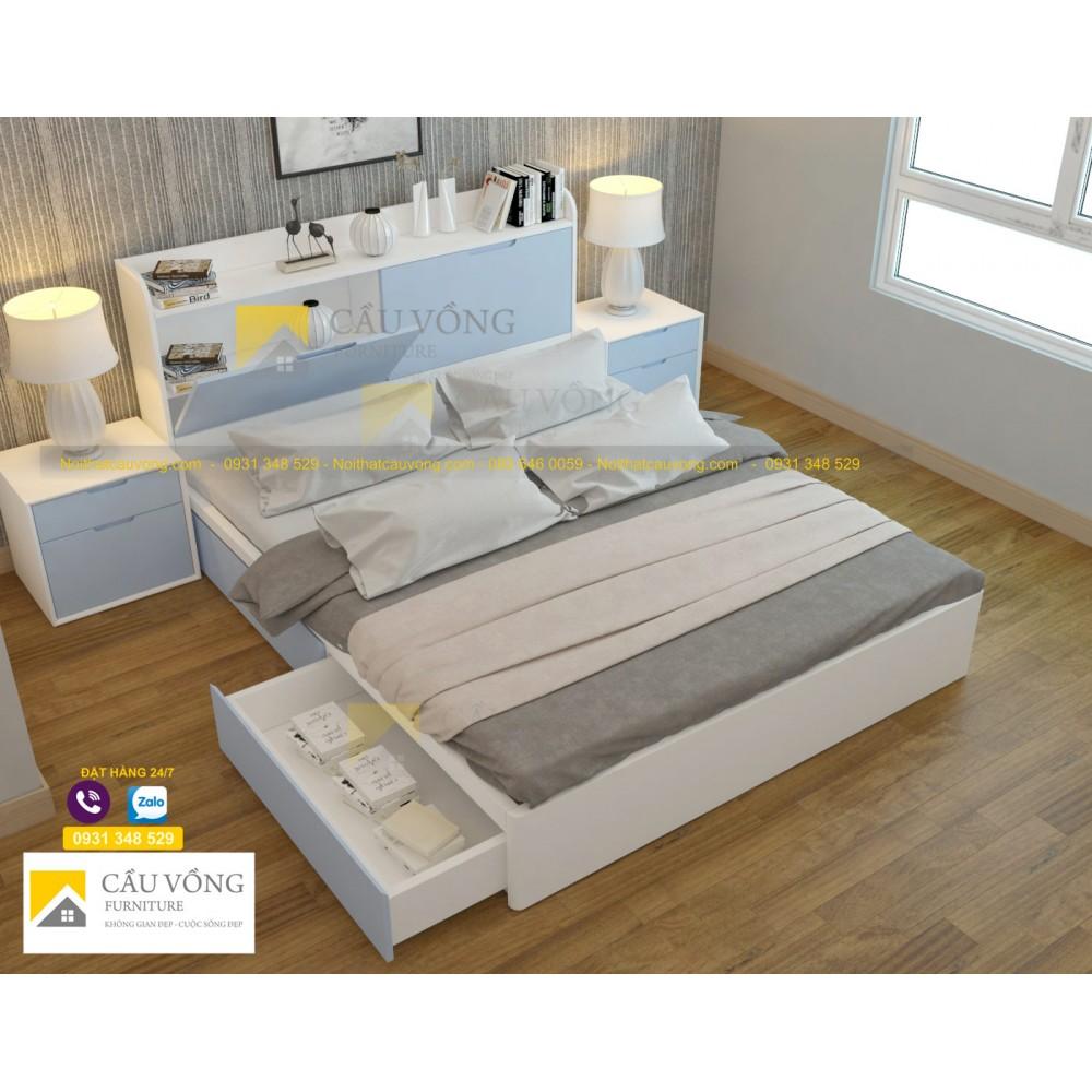 Giường ngủ đẹp GCV79