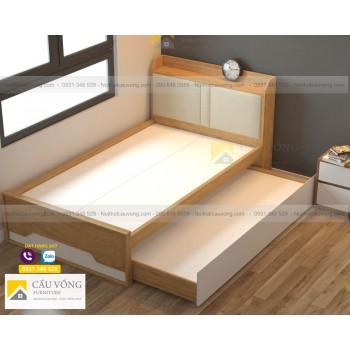 Giường ngủ có ngăn kéo để nệm GCV37