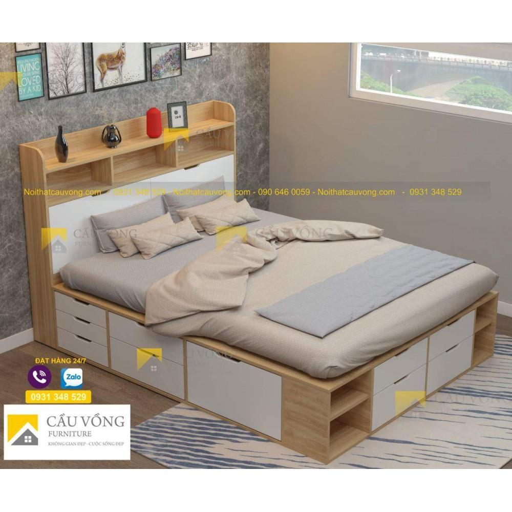 Giường ngủ đẹp GCV51