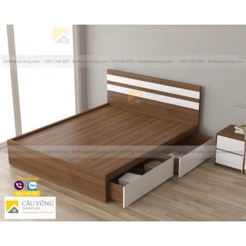 Giường ngủ hiện đại giá rẻ GCV44