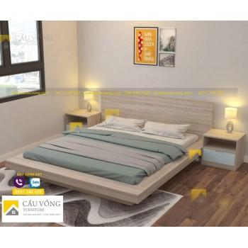 Giường ngủ kiểu nhật giá rẻ GCV53