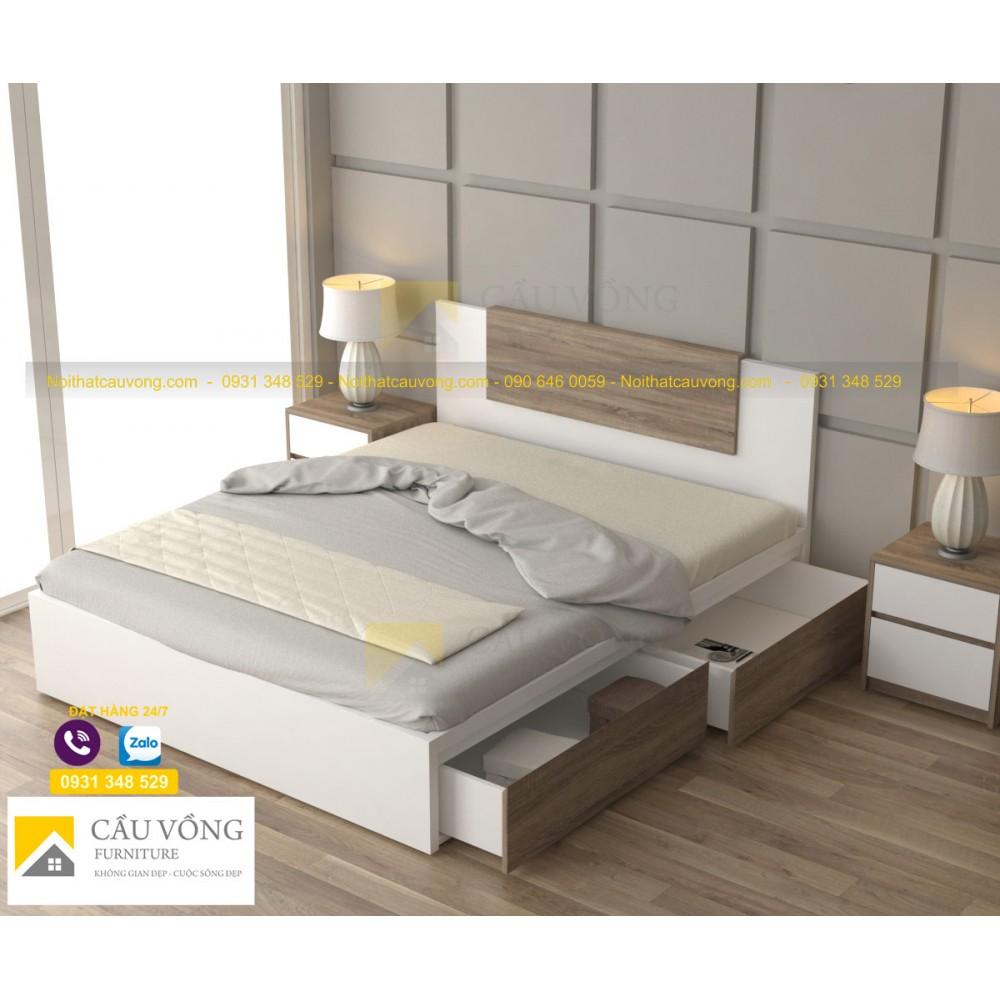Giường ngủ giá rẻ GCV84