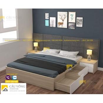 Giường ngủ giá rẻ tphcm GCV55