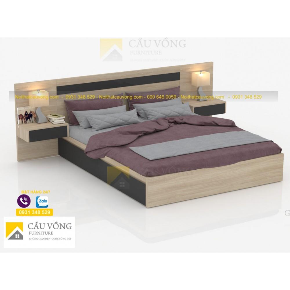 Giường ngủ có ngăn kéo GCV76