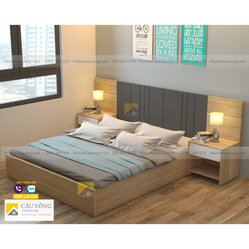 Giường ngủ hiện đại GCV42