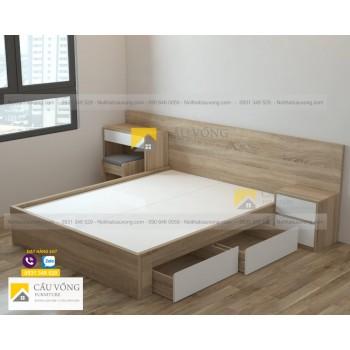 Giường ngủ hiện đại giá rẻ GCV45