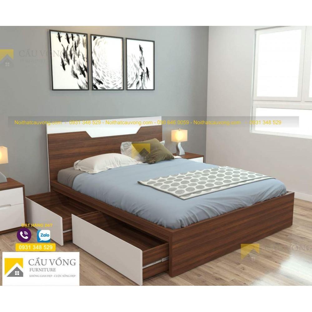 Giường ngủ hiện đại GCV59